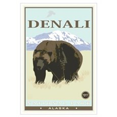 National Parks - Denali Canvas Art